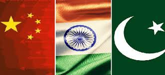 India-China-pakistan-flags